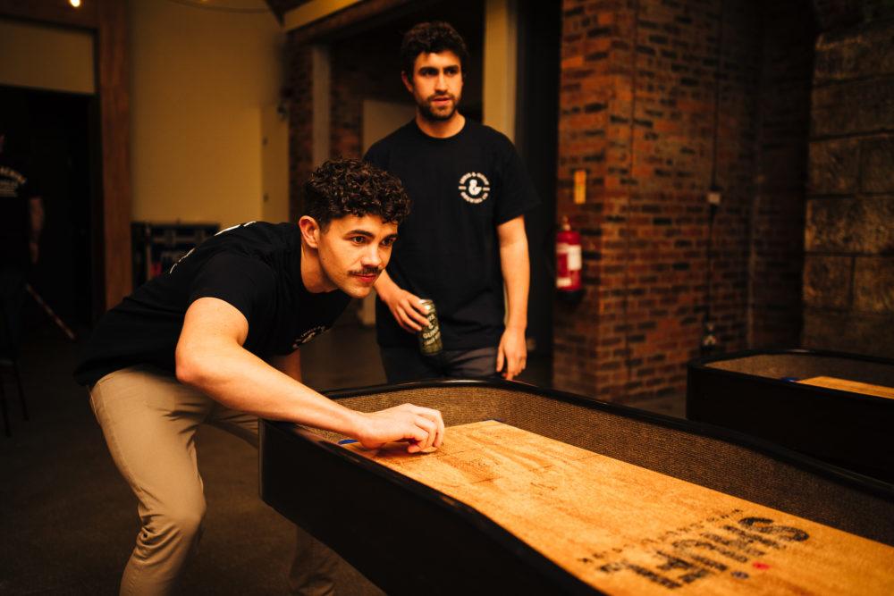 hire a shuffleboard