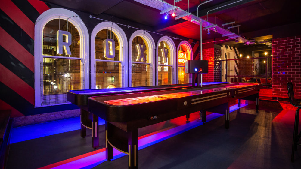 competitive gaming venues