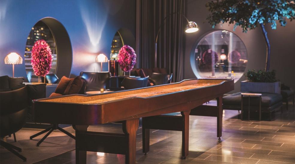 shuffleboard hotel